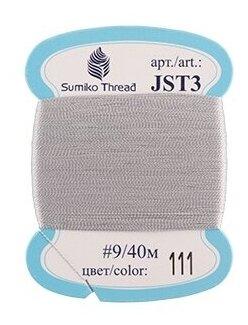 Нитки для вышивания Sumiko Thread для вышивания JST3 #9 40 м
