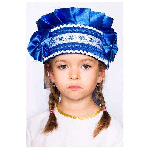 Купить Головной убор Borosko Кокошник (21-104-106), синий, Карнавальные костюмы
