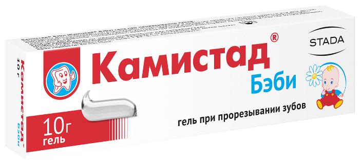 Камистад Бэби гель д/местн. прим. туба 10 г