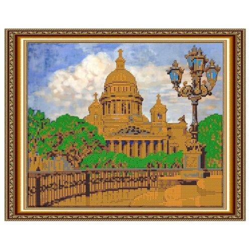 Светлица Набор для вышивания бисером Исаакиевский собор 30 х 24 см (443)