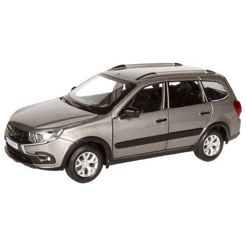 Купить Легковой автомобиль Автопанорама Lada Granta Cross 1:24 серый, Машинки и техника