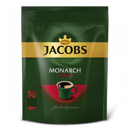 цена Кофе растворимый Jacobs Monarch Intense, пакет, 500 г онлайн в 2017 году