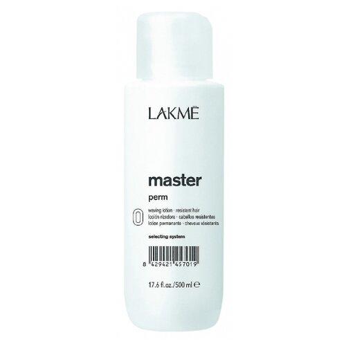 Фото - Lakme Лосьон для завивки натуральных и трудноподдающихся волос Master Perm Waving Lotion 0, 500 мл lakme master perm selecting system 1 waving lotion лосьон для нормальных волос 500 мл lakme master