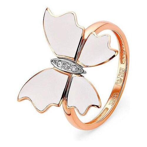 Фото - KABAROVSKY Кольцо с 3 бриллиантами из красного золота 11-0743-1010, размер 17.5 kabarovsky кольцо с 12 бриллиантами из красного золота 11 0398 1010 размер 17