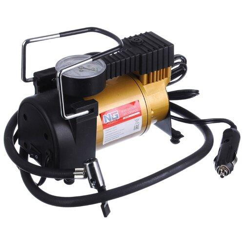 Автомобильный компрессор NEW GALAXY 713-035 оранжевый/черный