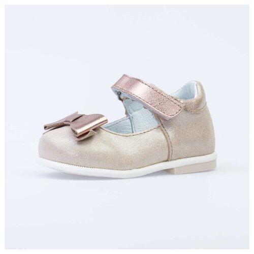 туфли для девочки san marko цвет золотистый 033845 размер 22 Туфли КОТОФЕЙ размер 22, 22 золотистый
