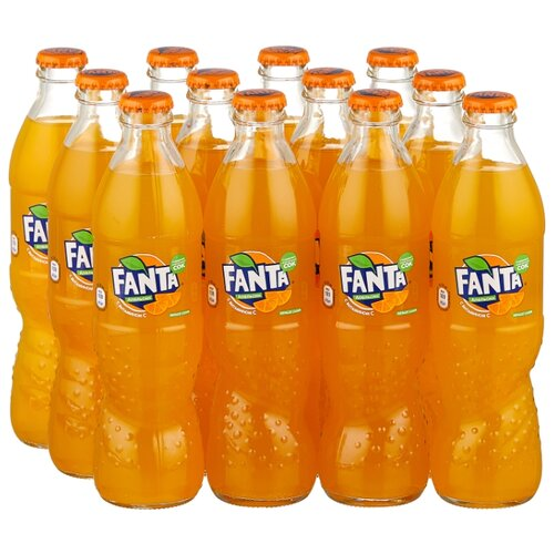 Газированный напиток Fanta, 0.33 л, 12 шт.