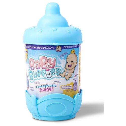 Фото - Интерактивный пупс Baby Buppies Малыш в колыбельке, 8 см, blue/astBP002D2 интерактивный пупс baby doll