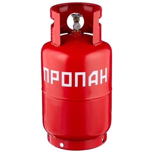 Газовый баллон NOVOGAS 27 л с предохранительным клапаном стальной 27 л