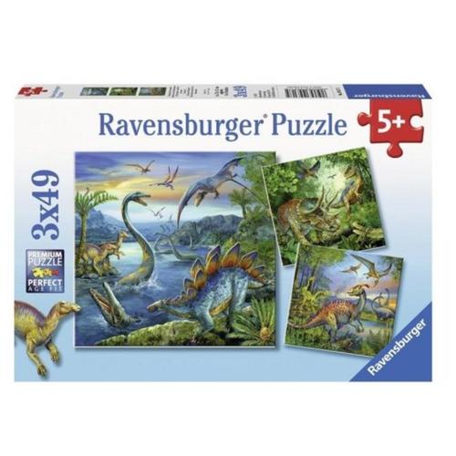 Набор пазлов Ravensburger Динозавры (09317) ravensburger водная стихия 3х500