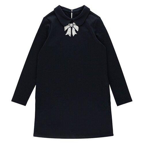 Купить Платье INFUNT размер 134, темно-синий, Платья и сарафаны