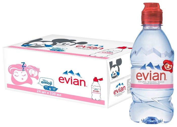 Детская вода Evian, c 6 месяцев (24 шт)