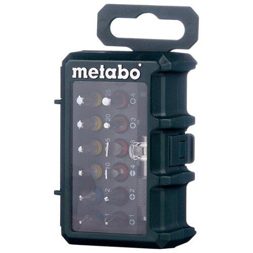 Набор бит Metabo 626703000, 15 предм., зеленый набор бит metabo 626711000 25 предм