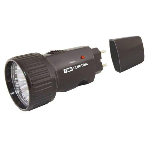 Ручной фонарь TDM ЕLECTRIC Компакт 4 черный фонарь tdm sq0350 0026