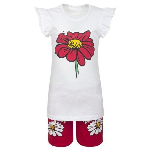 Купить Комплект одежды M&D размер 98, белый/красный, Комплекты и форма