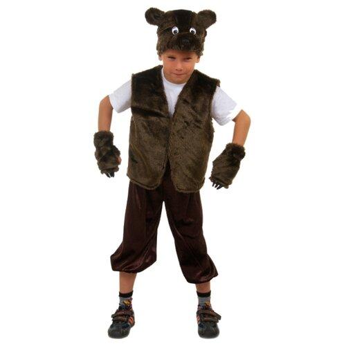 Купить Костюм Elite CLASSIC Медвежонок, коричневый, размер 30 (122), Карнавальные костюмы