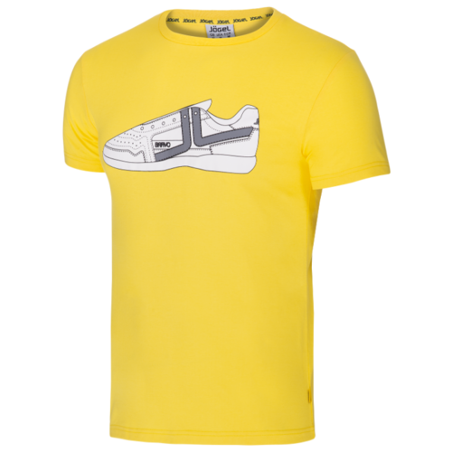 Футболка Jogel JCT-5202 размер YM, желтый/белый
