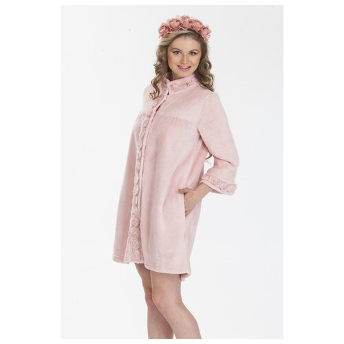 Халат Lelio размер L персиковый платье oodji цвет персиковый 14001182b 47420 5400n размер l 48