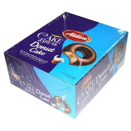 Aldiva пончик Cake break с молочным кремом в шоколадной глазури, (24 шт.)