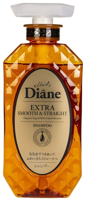 Moist Diane Шампунь Extra Smooth & Straight
