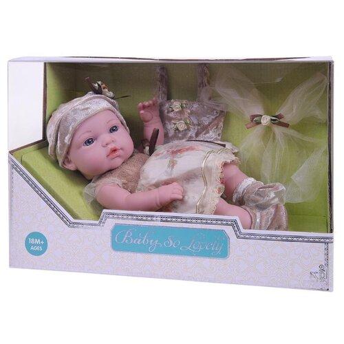 Пупс Junfa toys Baby So Lovely, 30 см, 1917-2 пупс junfa toys baby so lovely 1911 3