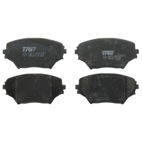 Дисковые тормозные колодки передние TRW GDB3251 для Toyota RAV4 (4 шт.)