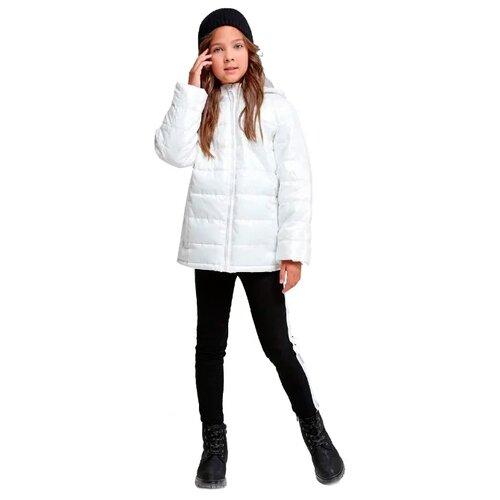 Купить Куртка Fox Ф866066 размер 128, белый, Куртки и пуховики