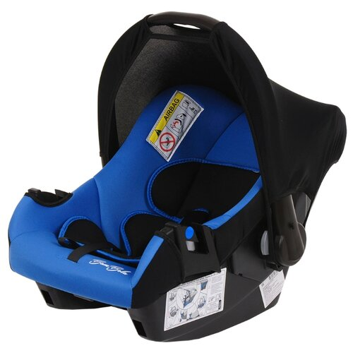 Фото - Автокресло-переноска группа 0+ (до 13 кг) BamBola Nautilus, черный/синий автокресло группа 0 1 до 18 кг bambola bambino черный синий