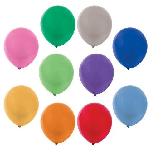 Набор воздушных шаров Золотая сказка Металлик 105002 (50 шт.)