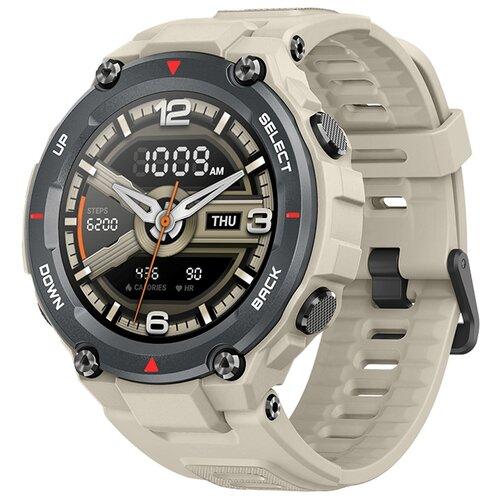 умные часы amazfit t rex smart watch standart eu зеленый камуфляж а1919 Умные часы Amazfit T-Rex, khaki