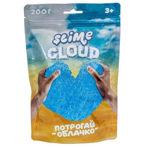 Жвачка для рук SLIME Cloud Голубое небо с ароматом тропик синий