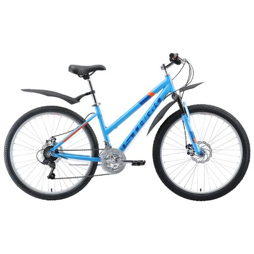цена на Горный (MTB) велосипед STARK Luna 26.1 D (2019) голубой/синий/оранжевый 14.5