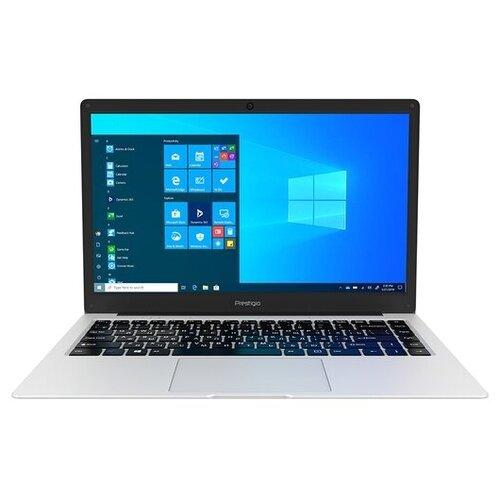 "Ноутбук Prestigio SmartBook 141 C5 (Intel Celeron N3350 1100MHz/14.1""/1366x768/4GB/64GB eMMC/Intel HD Graphics 500/Windows 10 Pro) PSB141C05CGP_MG_CIS серебристый"