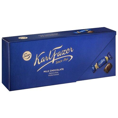 Набор конфет Fazer Karl Fazer Milk Chocolate 270 г цена 2017