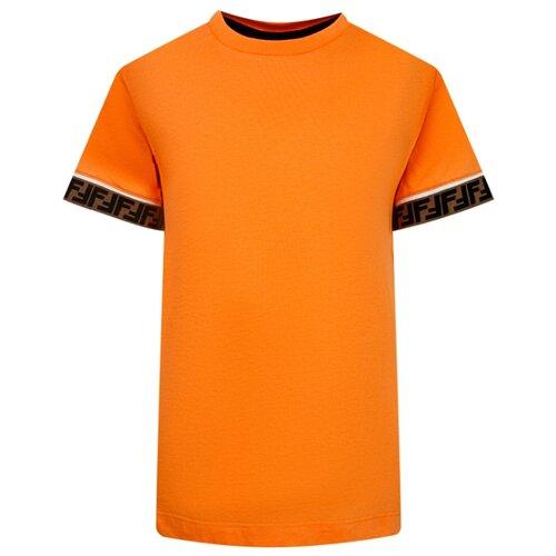 Фото - Футболка FENDI размер 140, оранжевый fendi накидка