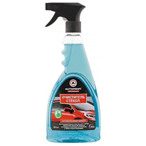 Очиститель для автостёкол AUTOPROFI 150502, 0.5 л зажим autoprofi bat clm 001