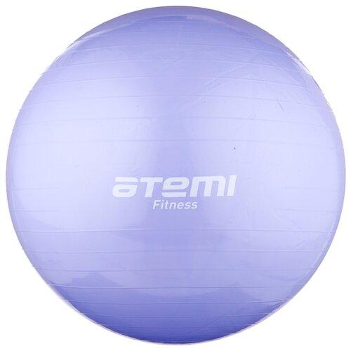 Фитбол ATEMI AGB-01-75, 75 см фиолетовый фитбол atemi agb 01 55 55 см салатовый
