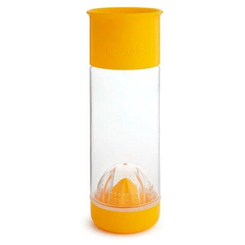 Бутылка для безалкогольных напитков, для воды Munchkin Miracle 360° Fruit Infuser Cup (591 мл) 0.59 пластик желтый