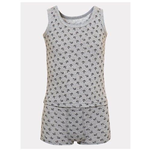 Купить Комплект нижнего белья M&D размер 104, серый, Белье и пляжная мода
