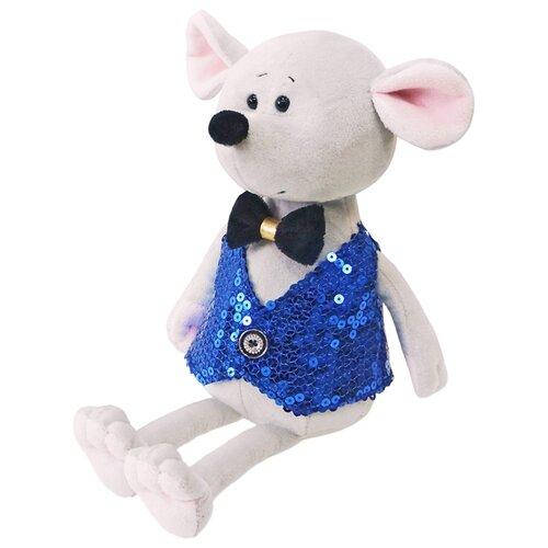 Купить Мягкая игрушка Maxitoys Мышонок Стасик в синей жилетке 21 см, Мягкие игрушки