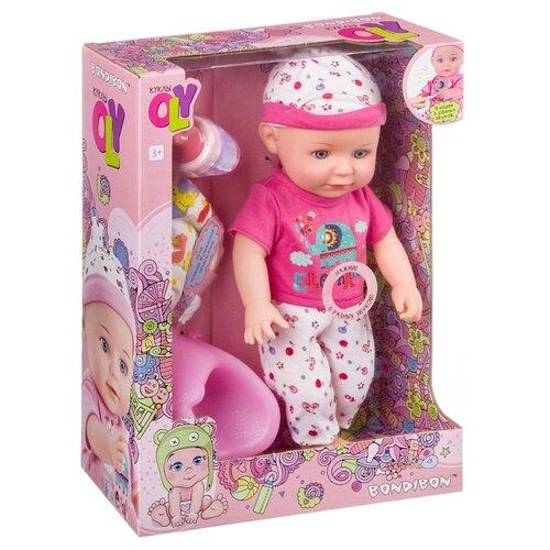 Фото - Интерактивный пупс BONDIBON OLY, 36 см, ВВ4259 интерактивный пупс joy toy маленькая ляля 058 19r