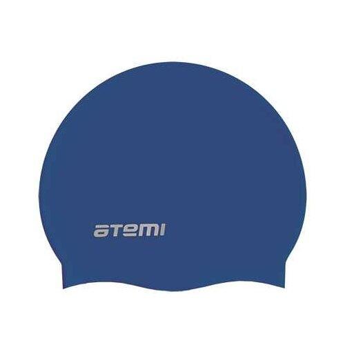 Шапочка для плавания ATEMI TC302, синий