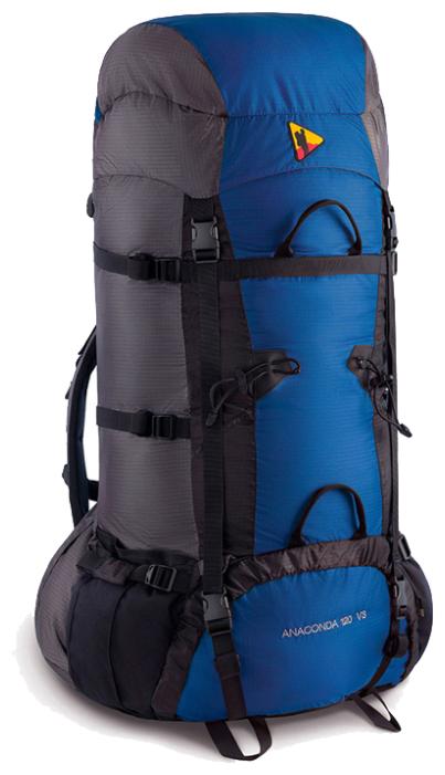 Рюкзак BASK Anaconda V3 120 black/blue