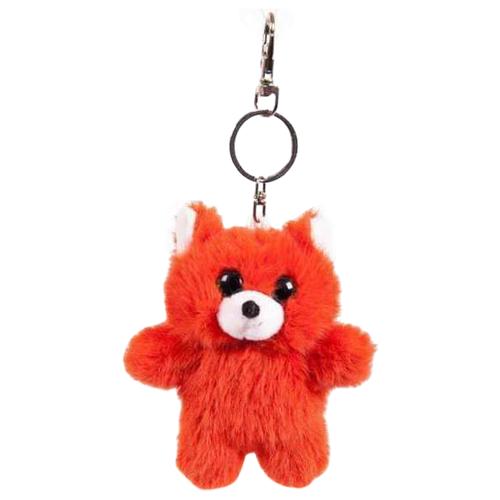 Купить Игрушка-брелок Junfa toys Флэтси мини Лиса 9.5 см, Мягкие игрушки