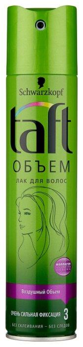 Taft Лак для волос Объём Преумножение объема, экстрасильная фиксация