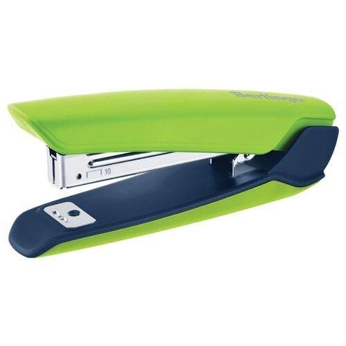 Купить Berlingo Степлер Hyper для скоб №10 зеленый, Степлеры, скобы, антистеплеры