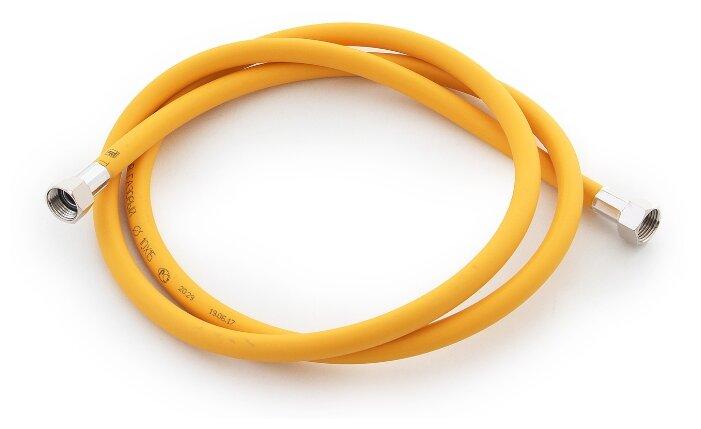 Шланг Tuboflex подводка для газа 1.5 м г/г желтый фото 1