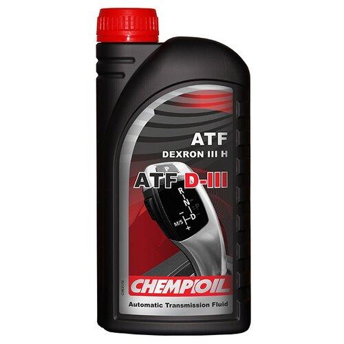 Трансмиссионное масло CHEMPIOIL ATF D-III 1 л трансмиссионное масло chempioil hypoid lsd 60 л