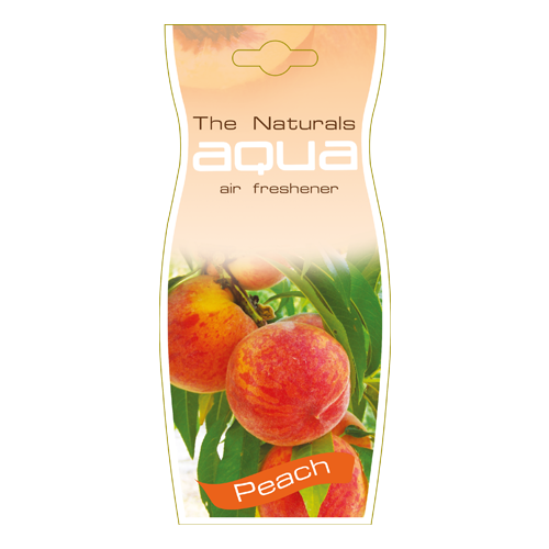 Aqua Ароматизатор для автомобиля Naturals Fruit Drop Peach 12 г