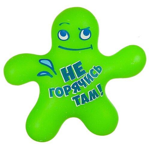 Купить Игрушка-мялка BONDIBON Чудики. Не горячись там! (ВВ3580) зеленый, Игрушки-антистресс